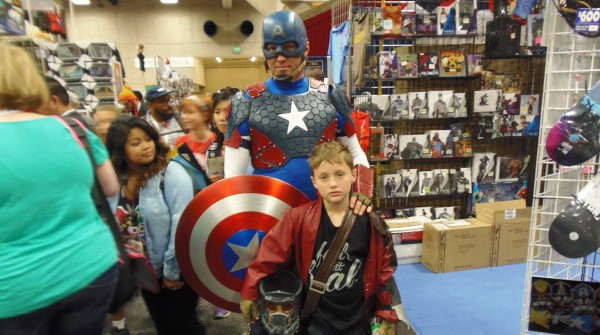 Comi Con 2015 in San Diego, California